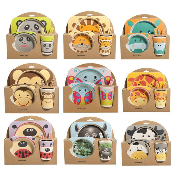Riffar 5PCS BABY TABLEWARE SET