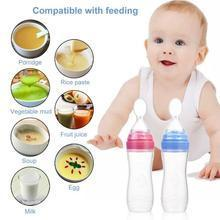 Riffar Baby Silicone Feeding Bottle