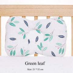 Riffar Green leaf BABY HEAD PROTECTION PILLOW 10201593-green-leaf