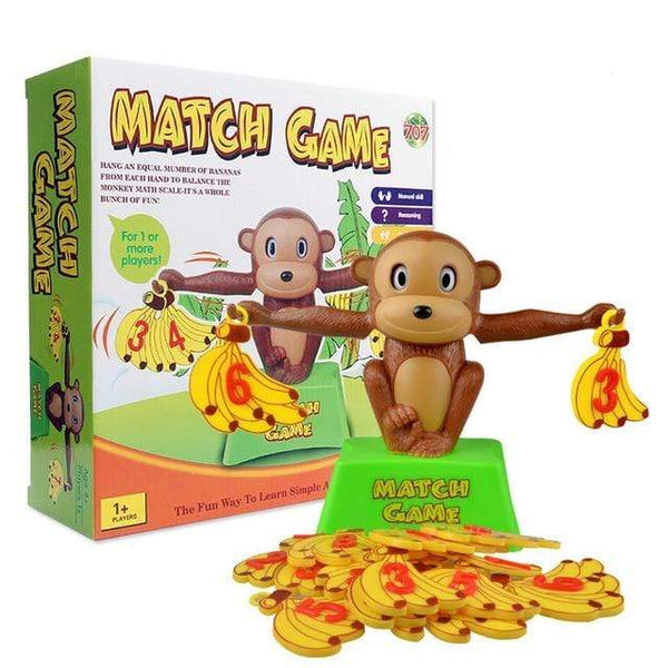 Riffar Monkey B with box Monkey Balance - Math Genius 21287360-monkey-b-with-box