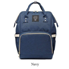 Riffar Navy Mummy Nappy Bag 20185458-navy