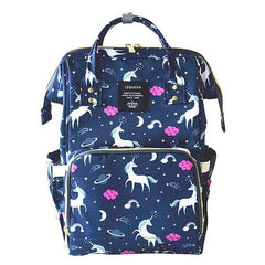 Riffar Navy unicorn Mummy Nappy Bag 20185458-navy-unicorn