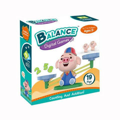 Riffar Piggy WITH Box Monkey Balance - Math Genius 21287360-piggy-with-box