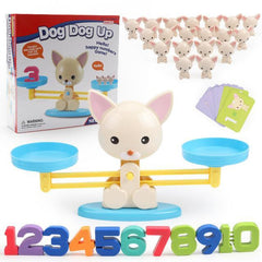 Riffar Puppy WITH Box Monkey Balance - Math Genius 21287360-puppy-with-box
