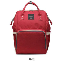 Riffar Red Mummy Nappy Bag 20185458-red