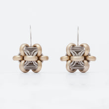 Load image into Gallery viewer, Orecchini Earrings Cubo Ottone Brass  Brengola