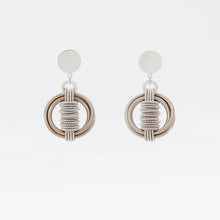 Load image into Gallery viewer, Orecchino Earrings Satellite Molle Ottone Brass Brengola