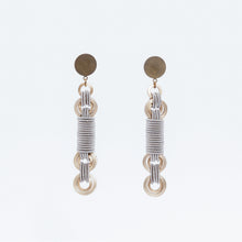 Load image into Gallery viewer, Anelli Earrings Rotaia Ottone Brass Brengola