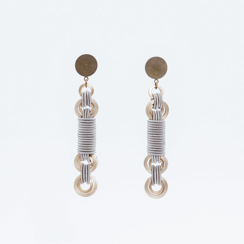 Anelli Earrings Rotaia Ottone Brass Brengola