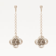 Load image into Gallery viewer, Orecchini Earrings Quadrilobo Argento Silver Brengpla