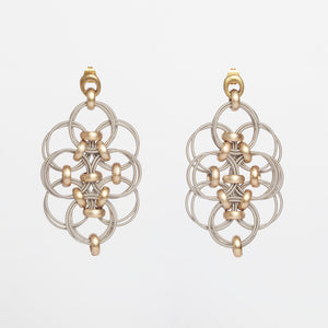 Orecchini Earrings Alveare Brengola