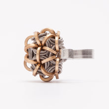 Load image into Gallery viewer, Anello RIng Mezza Sfera Ottone Brass Brengola