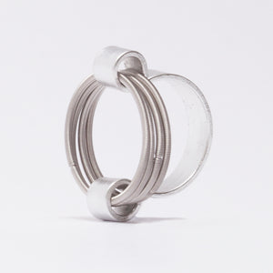 Anello RIng Ellisse Argento Silver  Brengola