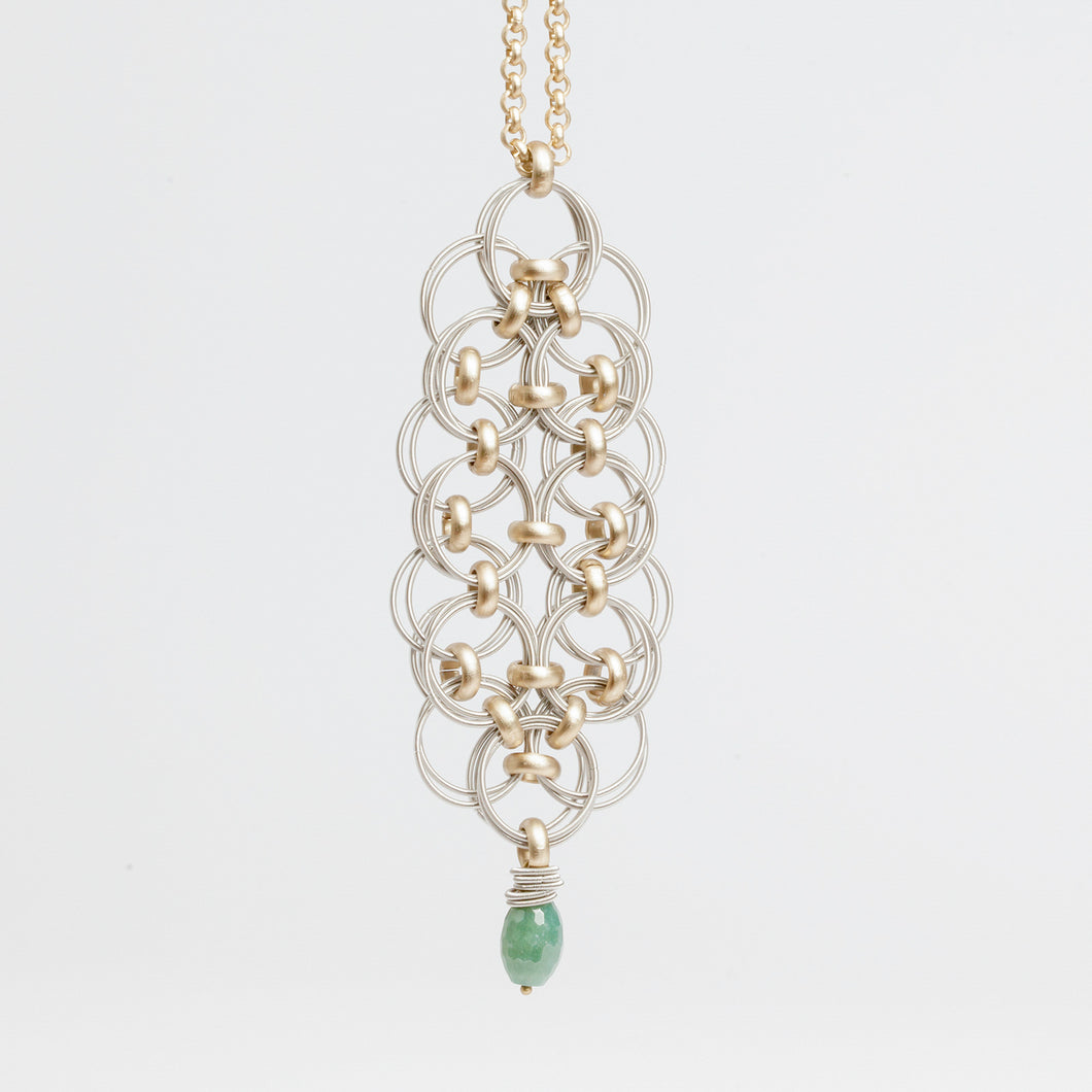 Collana Necklace Alveare Brengola