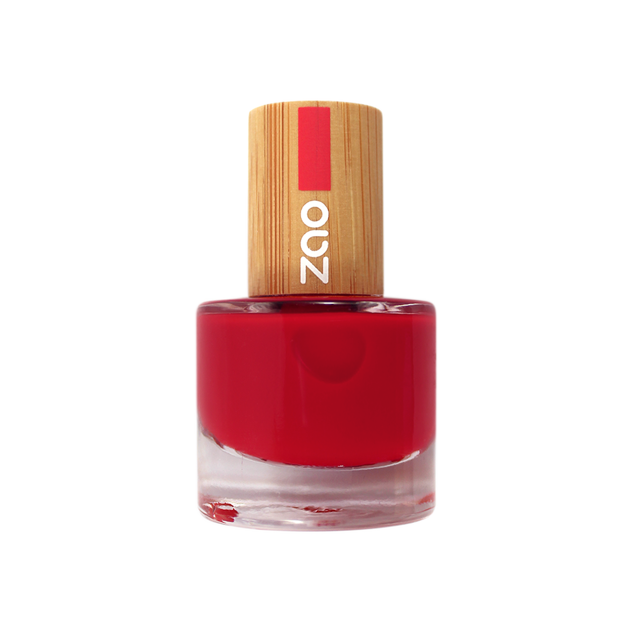 Red Nail Polish, Palm oil free, without any toxic ingredients - natoorio