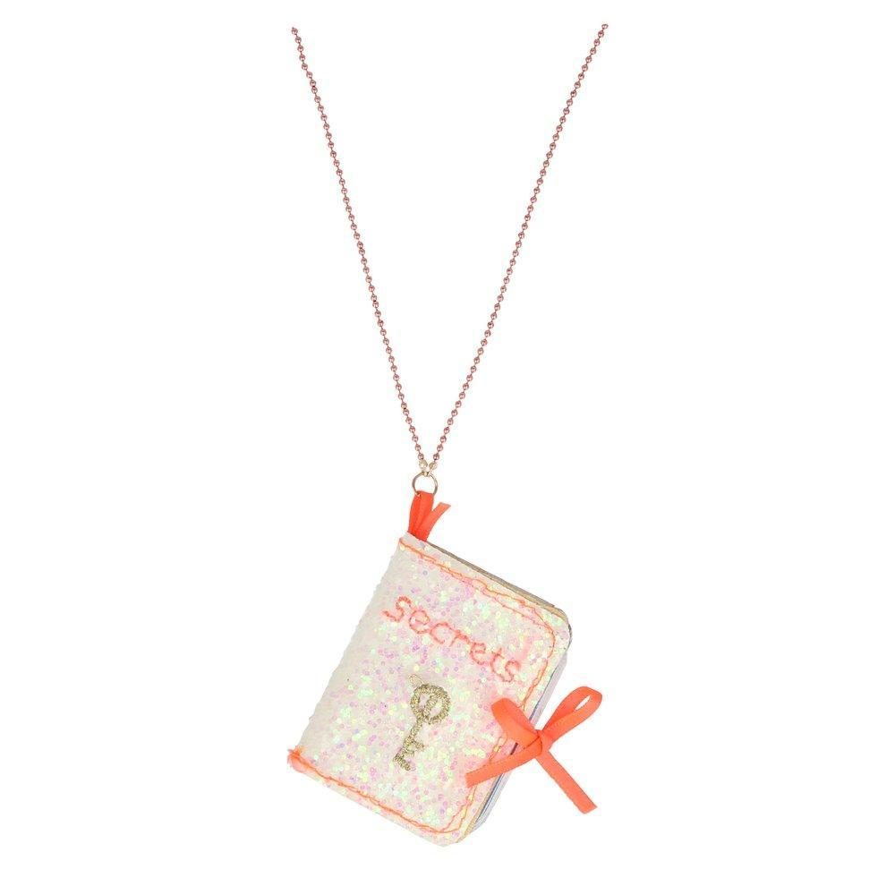 Secrets Book Necklace - Suitable for ages 4+ - natoorio