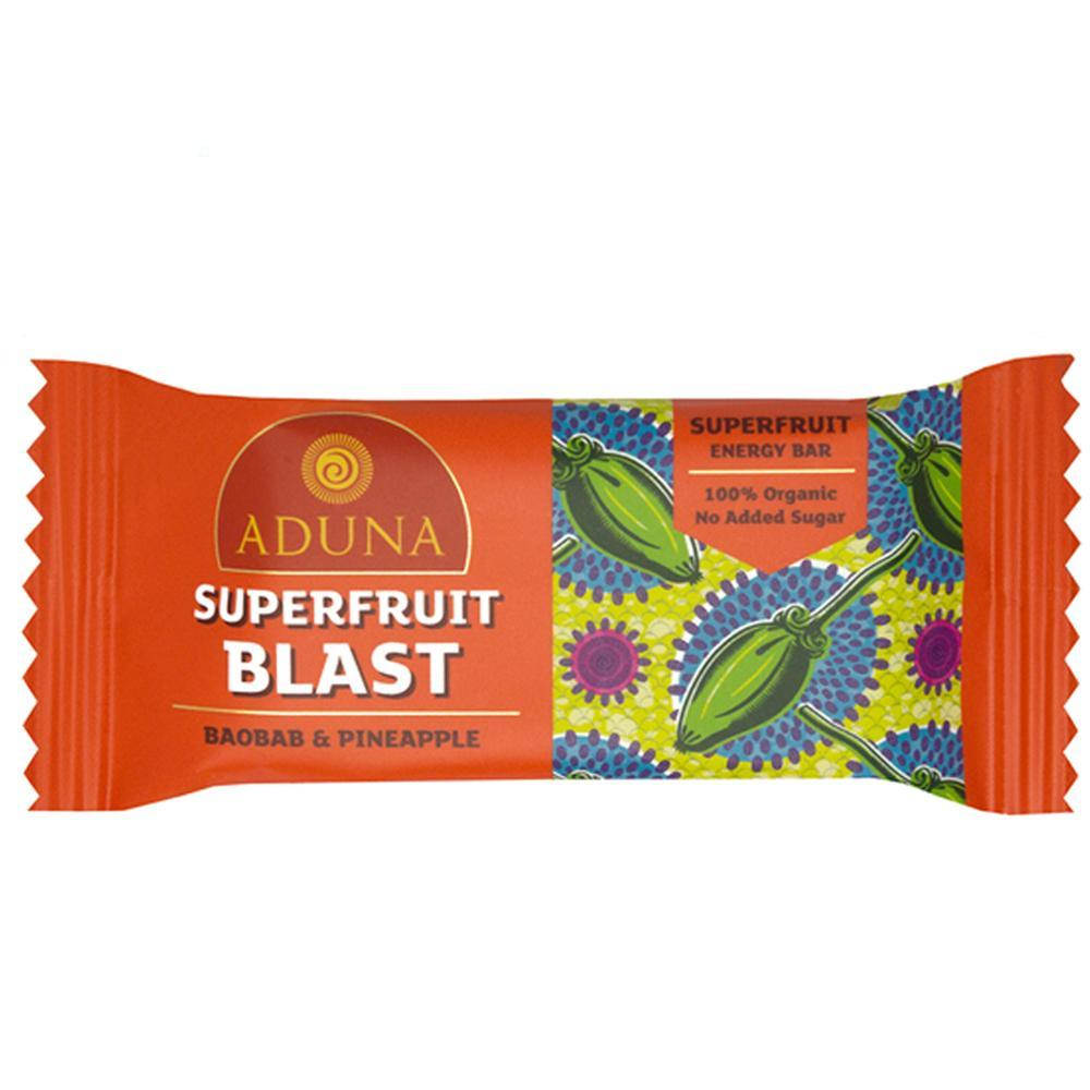 SUPERFRUIT BLAST ENERGY BAR VEGAN - natoorio