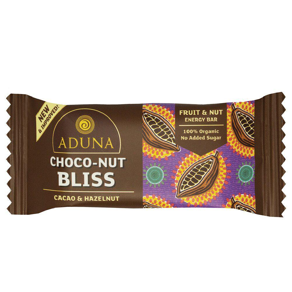 CHOCO-NUT BLISS ENERGY BAR VEGAN - natoorio