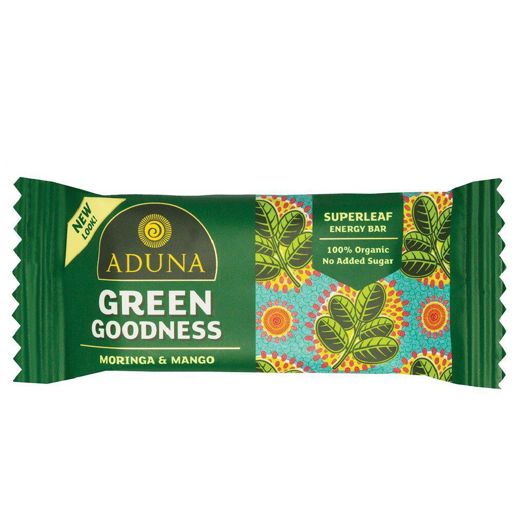 GREEN GOODNESS ENERGY BAR VEGAN - natoorio