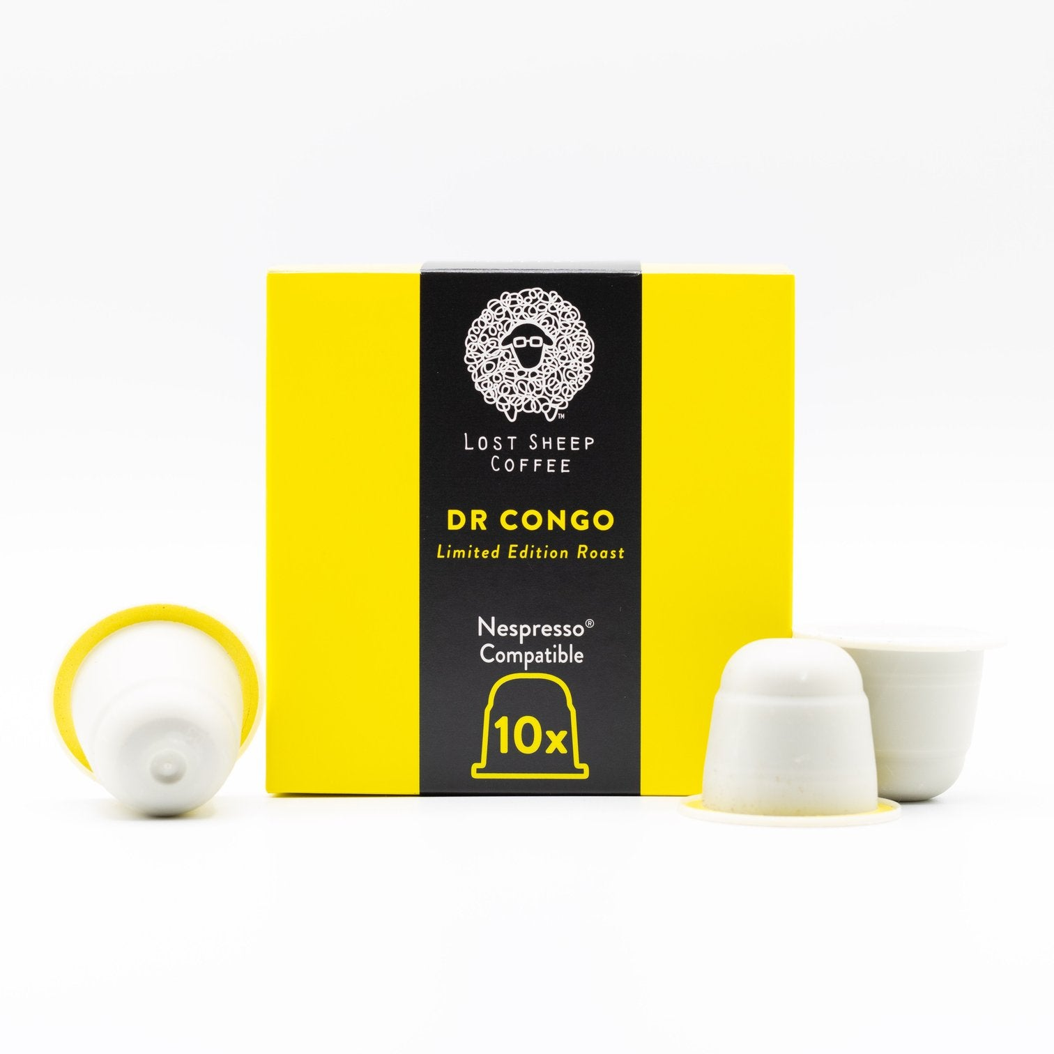 DR Congo - certified Organic | LIMITED EDITION | Compostable | Nespresso© Capsules, Floral Black Tea, pineapple acidity with a big plum jam sweetness! - natoorio