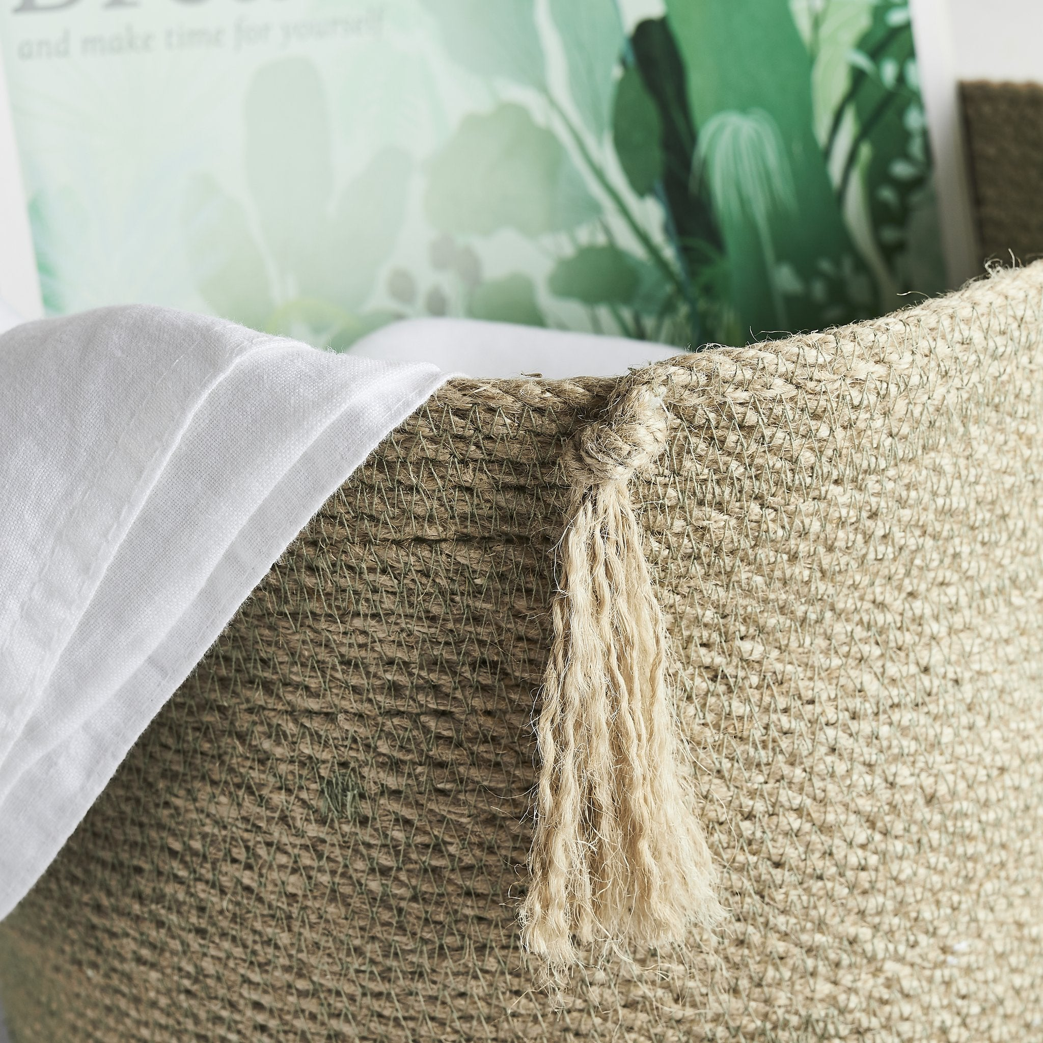 Jute ECO-TWIST Basket - natoorio