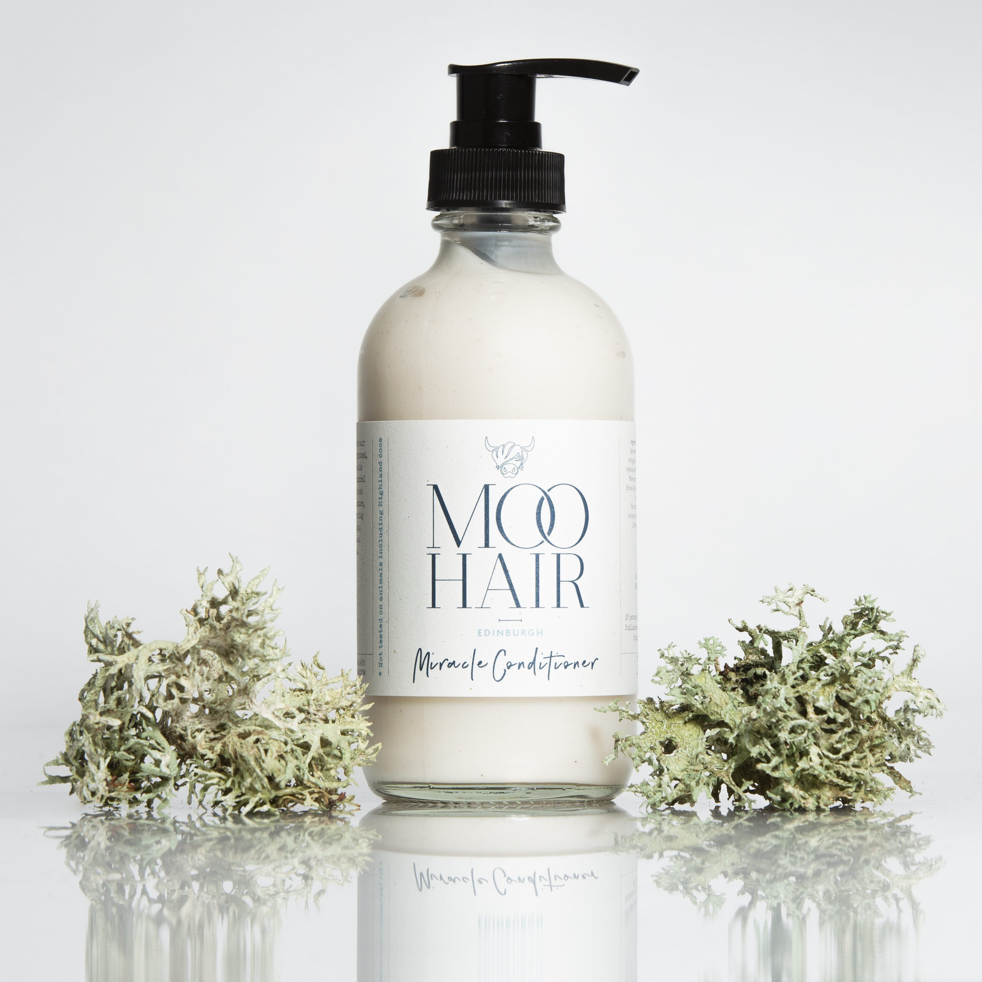 Moo & Yoo Miracle Hair Conditioner (250ml) - hair hydrated, soft, shiny and frizz free - natoorio