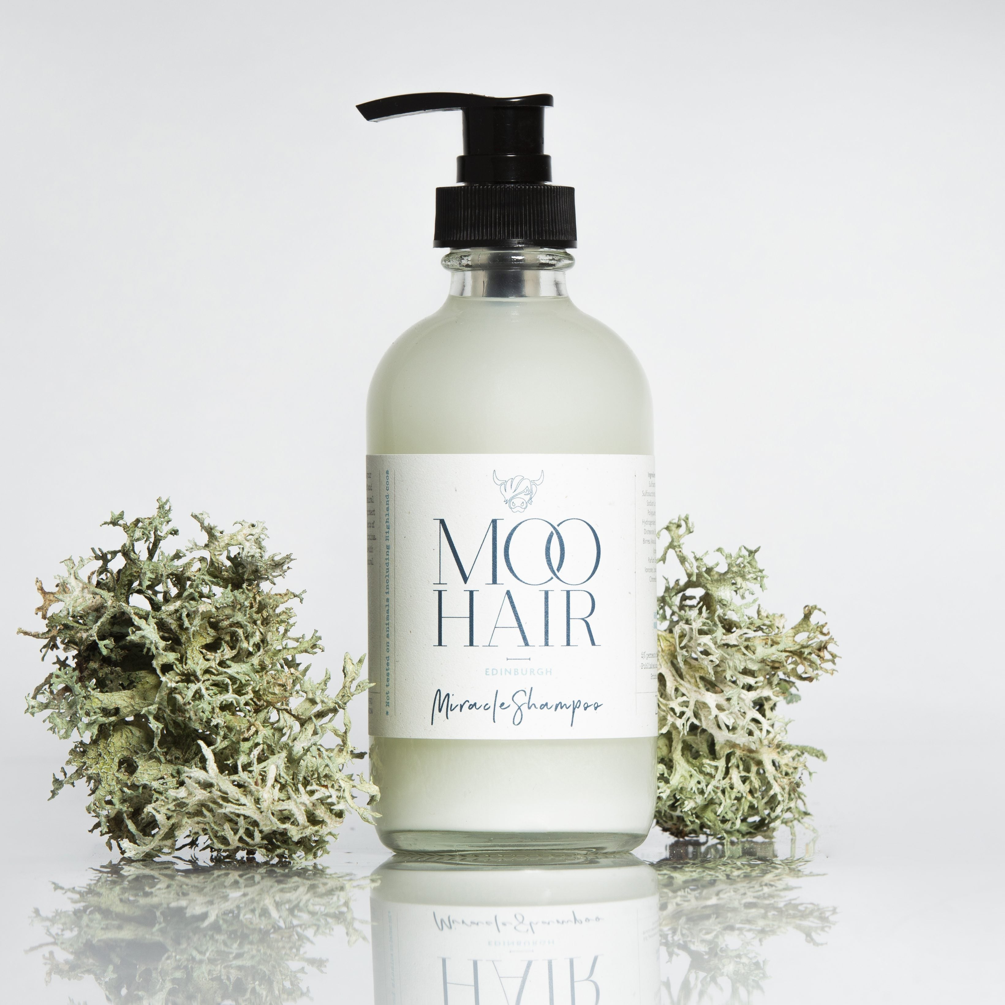 Moo & Yoo Miracle Hair Shampoo (250ml) - for all hair types - natoorio