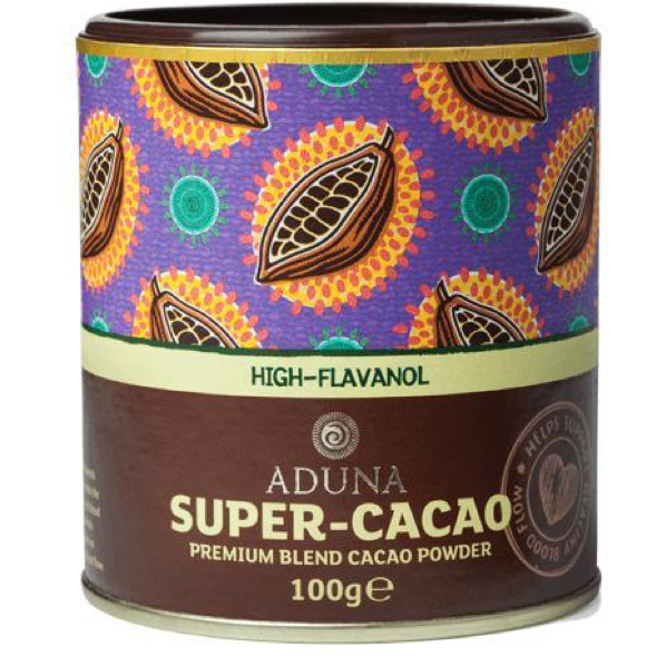 SUPER-CACAO POWDER VEGAN 100G - natoorio