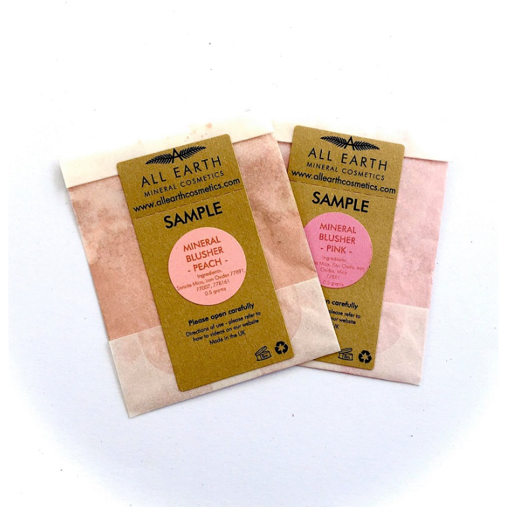 SAMPLE MINERAL BLUSHER - natoorio