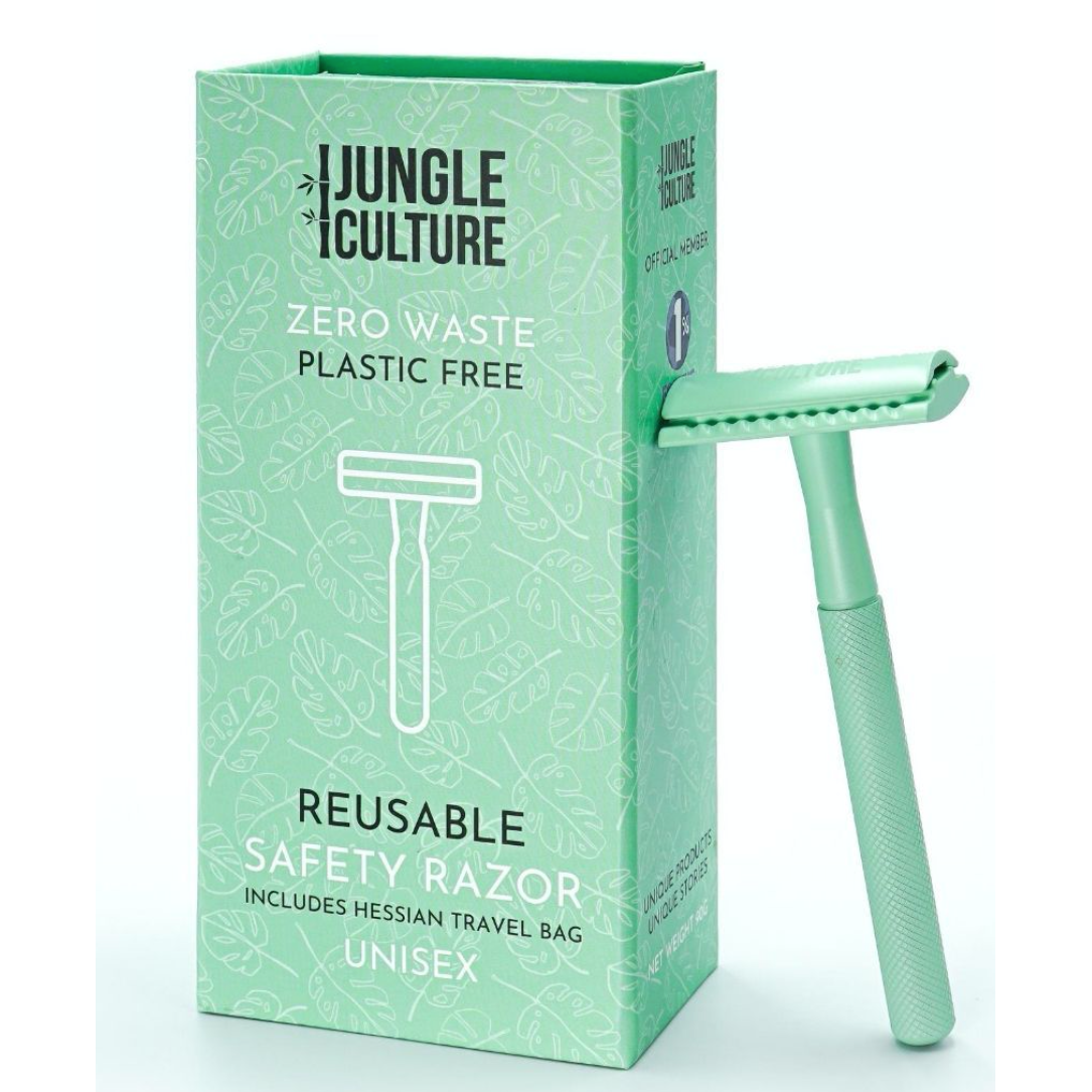 Eco-friendly Safety Razor for Women & Men | Reusable Zero Waste Razors w/ Travel Bag (not include razor blades) - natoorio