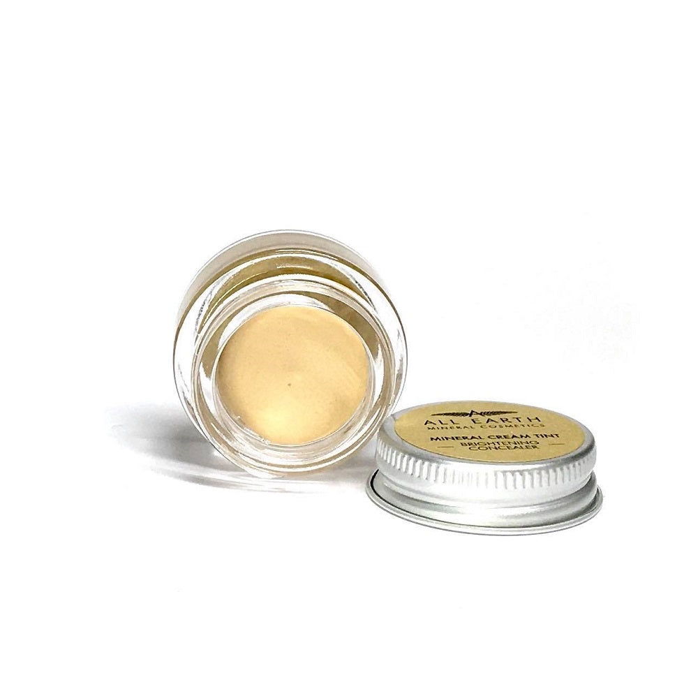 BRIGHTENING CONCEALER (LIGHT) CREAM TINT, CRUELTY FREE, PALM OIL FREE & VEGAN - natoorio