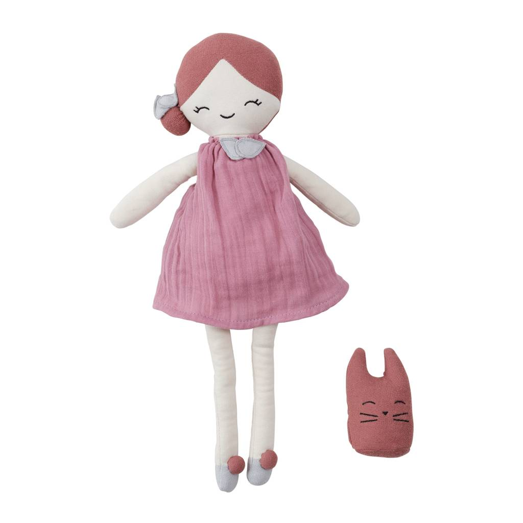 BIG Doll Berry - 100%  organic cotton (40cm) - natoorio