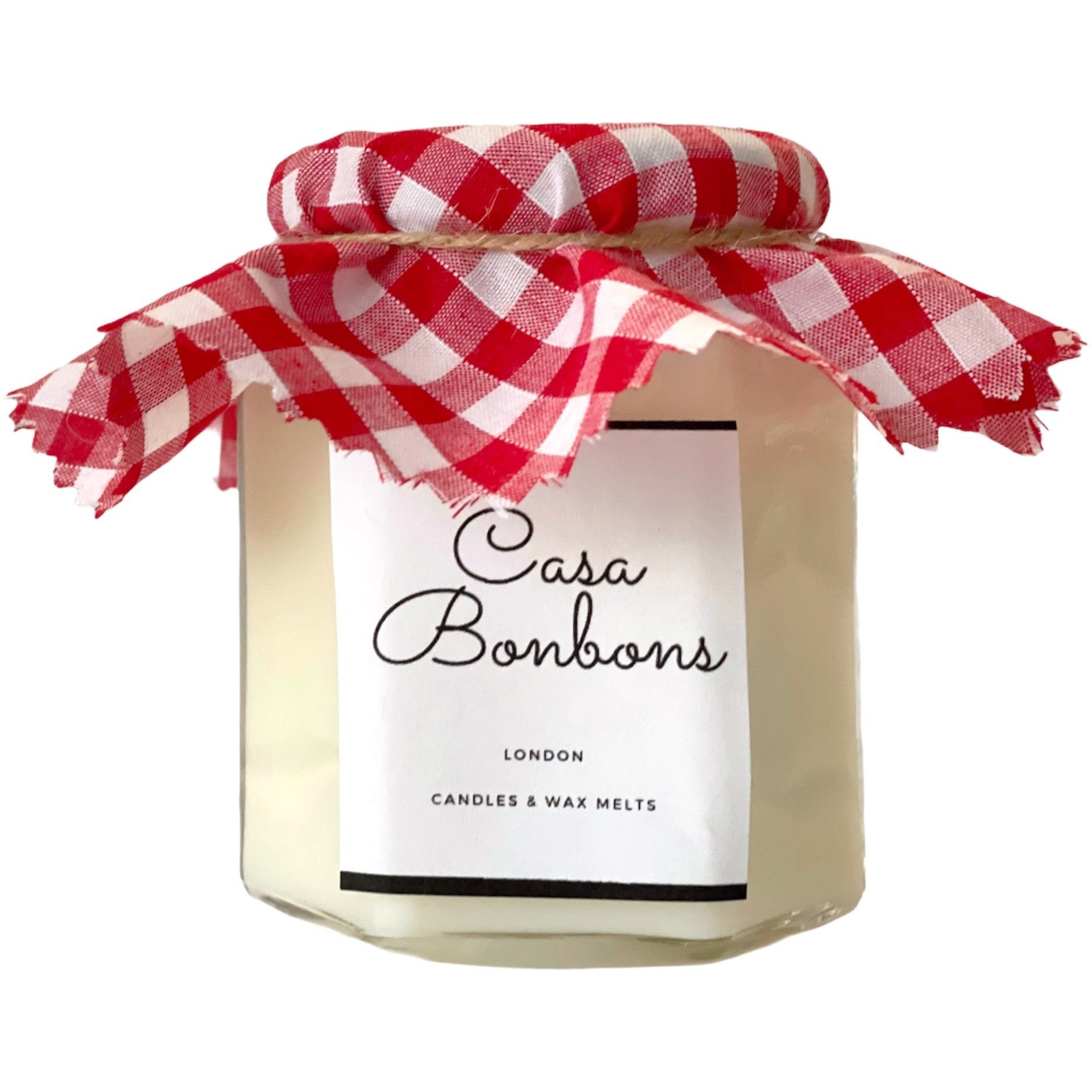 Cherry & Apple scented in Soy Wax glass Candle