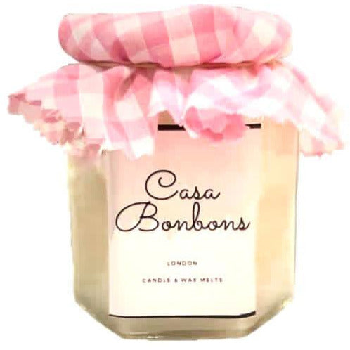 Vanilla scented in Coconut Soy Wax glass Candle,  PRE ORDER delivery end of February - natoorio
