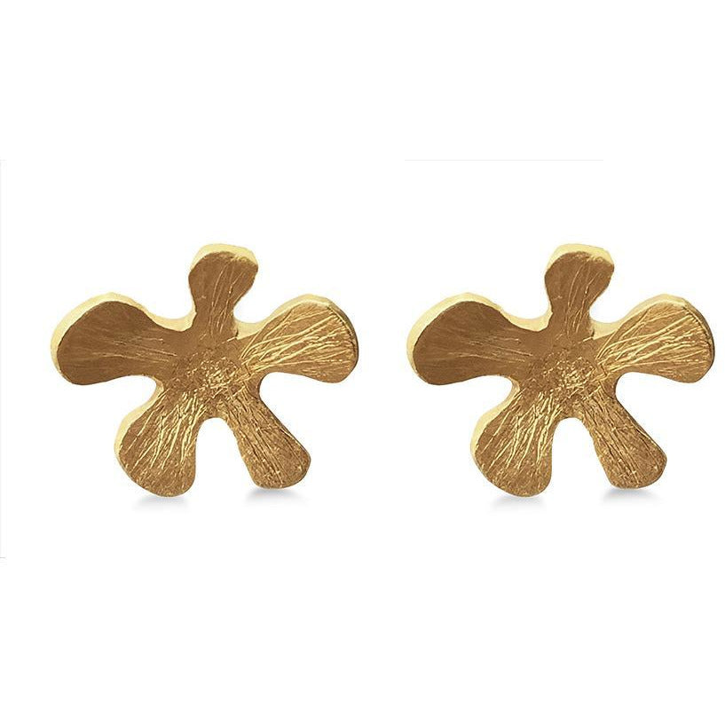 Mermaid Flower Stud Earrings - natoorio
