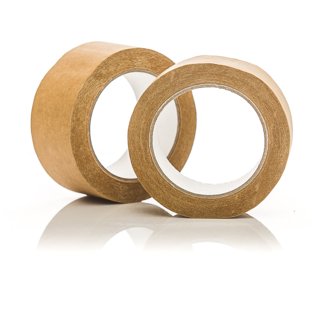 PAPER Parcel Tape 48mm - 1 roll of self adhesive biodegradable paper tape - natoorio