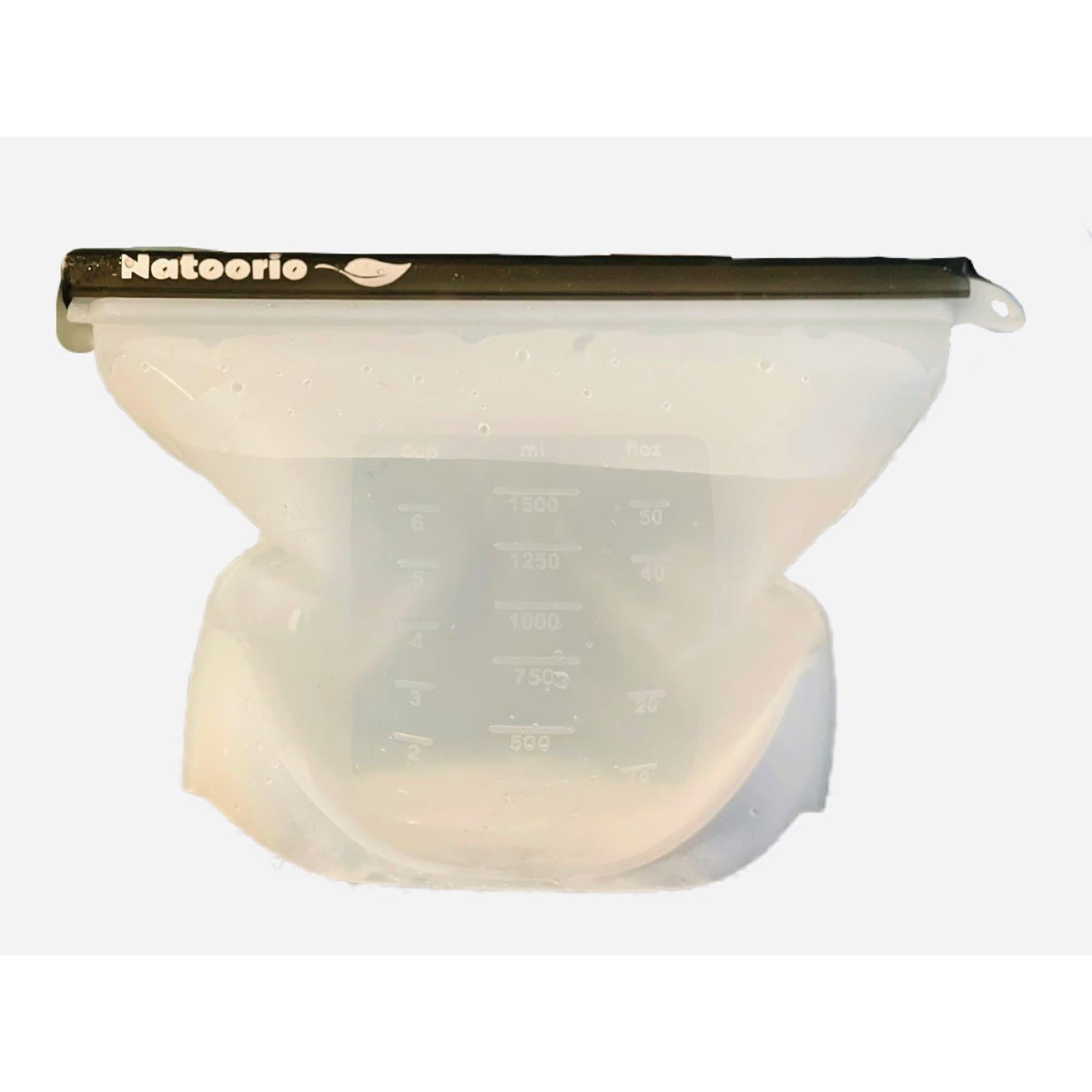 Large Silicone Fresh Food Pouch 1500ml - natoorio