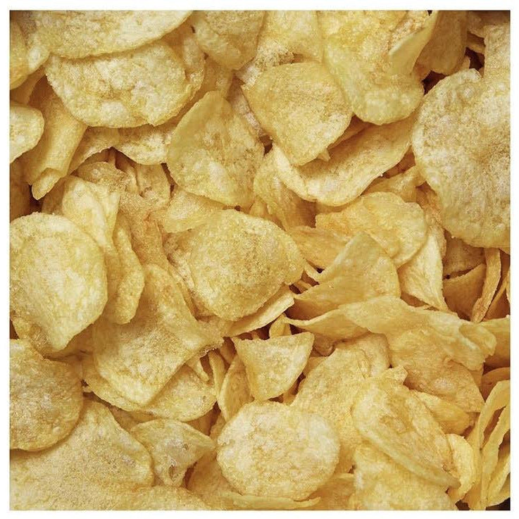 PLASTIC FREE, HOME COMPOSTABLE AND VEGAN crisps 40g Salt & Cider Vinegar - natoorio