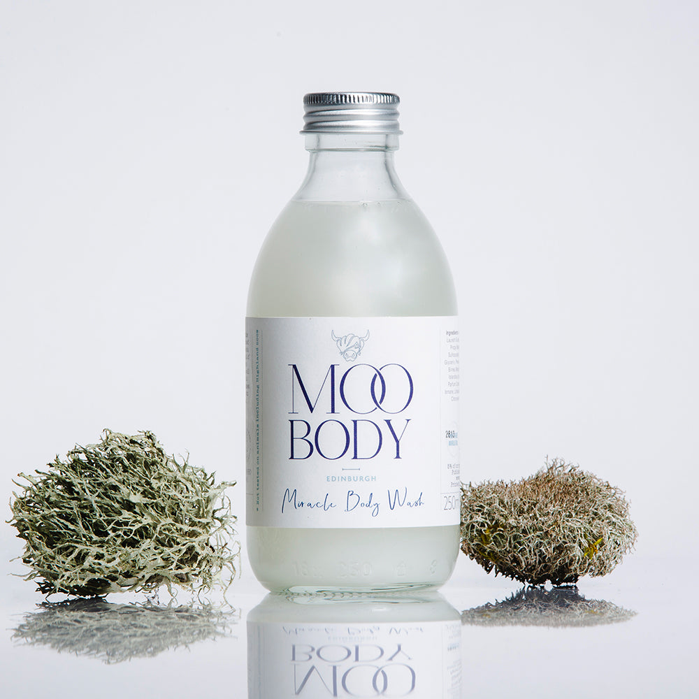 Miracle Body Wash with Aluminium Lid (250ml) - natoorio