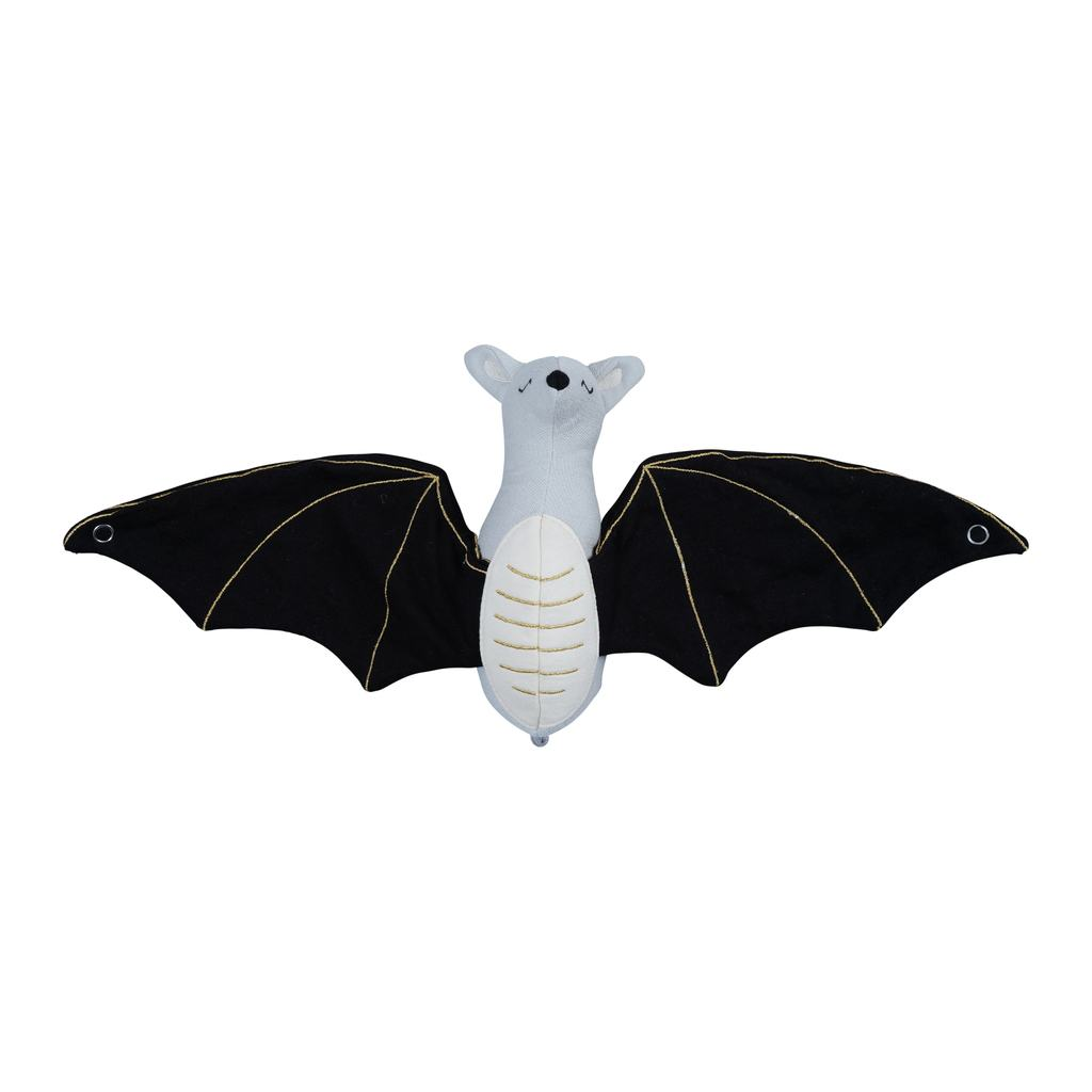 Soft Rattle - Bat (organic cotton) - natoorio