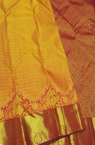 Awosome Yellow Color Soft Silk Designer Saree