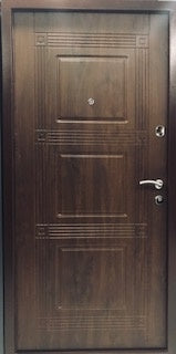 "Rio Walnut Exterior Door 36"" W x 80"" H"