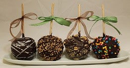 Chocolate Apple Platter