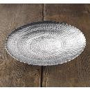 Hammered Pewter Round Plate