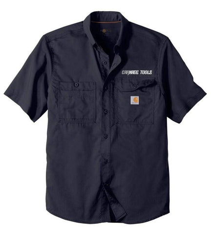 Merch M / Short Sleeve Carnage Tools & Carhartt Force® Ridgefield Work Shirts CTCHRFMSS