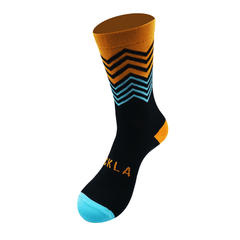 Orange ZigZag - Sockla