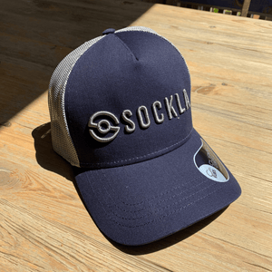 Sockla Trucker Cap - Midnight Blue
