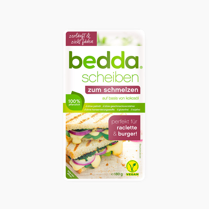 Vromage tranches raclette ou burger - Bedda