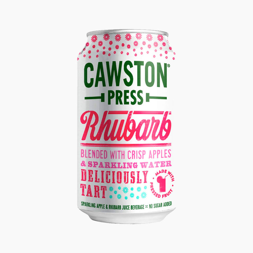 Boisson Gazeuse à la Rhubarbe - Cawston Press