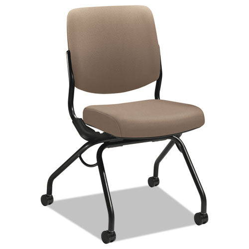 Folding Nesting Chair with Lifetime Guarantee See Office Furniture desks, chairs, and more at officefurnitureusa.store.